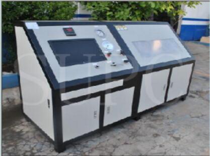 航天管件静液压试验机-航天液压管件保压测试台