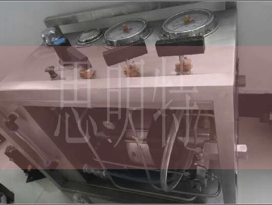 阀门管汇便携式试水压机
