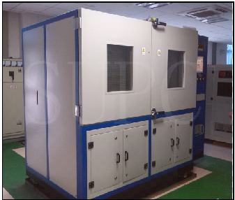 步入式大型换热器脉冲测试台