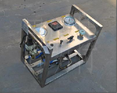 便携式气动试压泵技术资料