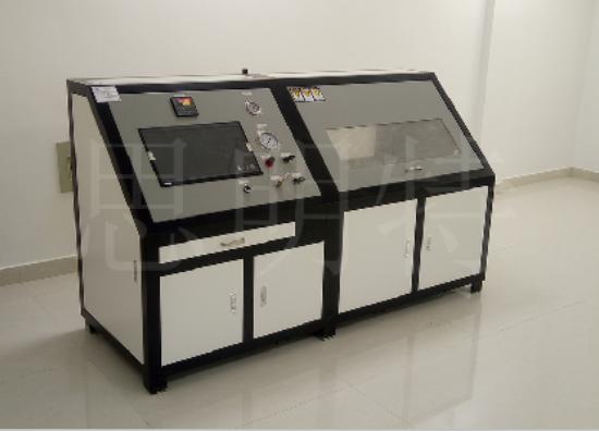 塑料球阀耐水压爆破试验机