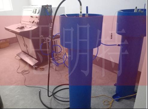 钢瓶残余变形量水压测试装置