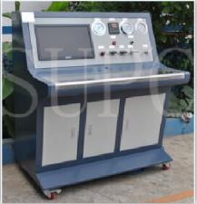 制冷剂压缩机壳体气压试验机