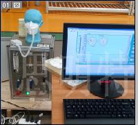口罩密封性呼吸阻力测试仪
