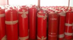 消防钢瓶残余变形量水压试验机