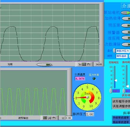 电磁阀阀头压力循环脉冲试验机