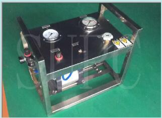 小型便携式水压试验机