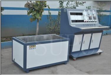 机车制动软管(风管)水压测试台