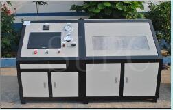 空调冷凝器水压爆破试验机