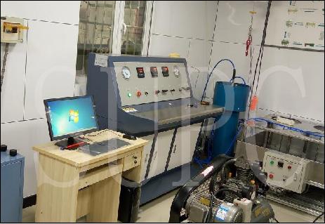 天津消防总队呼吸气瓶水压试验机