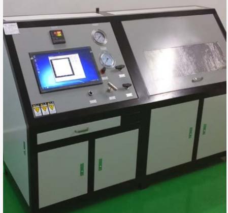 硅芯管耐水压强度爆破试验机