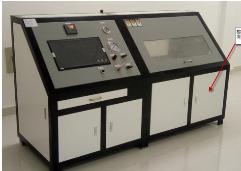 塑料阀门耐水压试验机