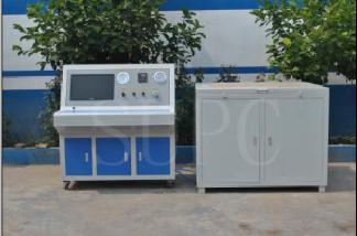 气动PU管水压强度试验机 塑料PED瓶水压爆破试验机
