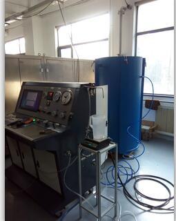 钛合金瓶体水压试验机|钛合金气瓶外测法水压试验机
