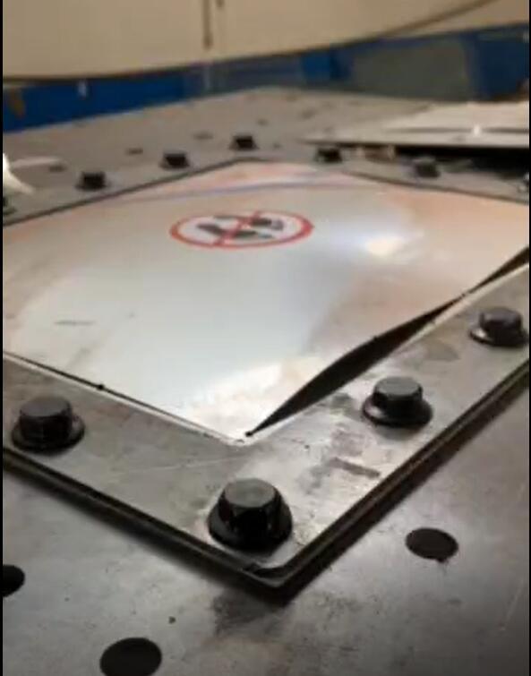 平板防爆片压力爆破测试台 爆破片压力爆破试验机
