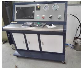 聚乙烯管材集成管水压测试台|缠绕复合管耐水压爆破试验机