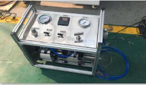 内燃机配件水压试验台|机车管件水压强度试验台