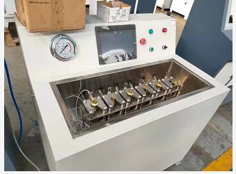 消防喷头水压测试台|喷淋头耐水压测试台