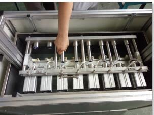 汽车火花塞管气体密封性试验机|火花塞钢管密封性测试台